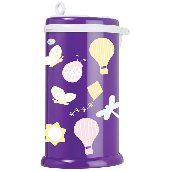 Ubbi Diaper Pail Decal (Dragonfly)