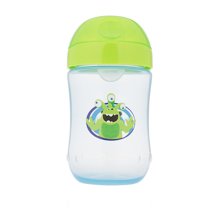 Dr Brown's Soft Spout Monster Toddler Cup, Blue