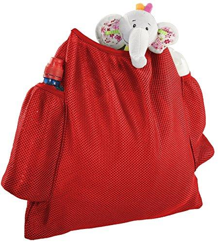 Simply Good Strollin' Mesh Bag (Red)