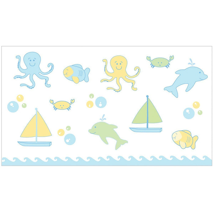Ubbi Nappy Pail Underwater Theme Decals