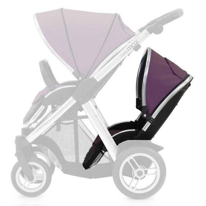 Oyster Max 2 Lie-Flat Tandem Seat Colour Pack, Damson