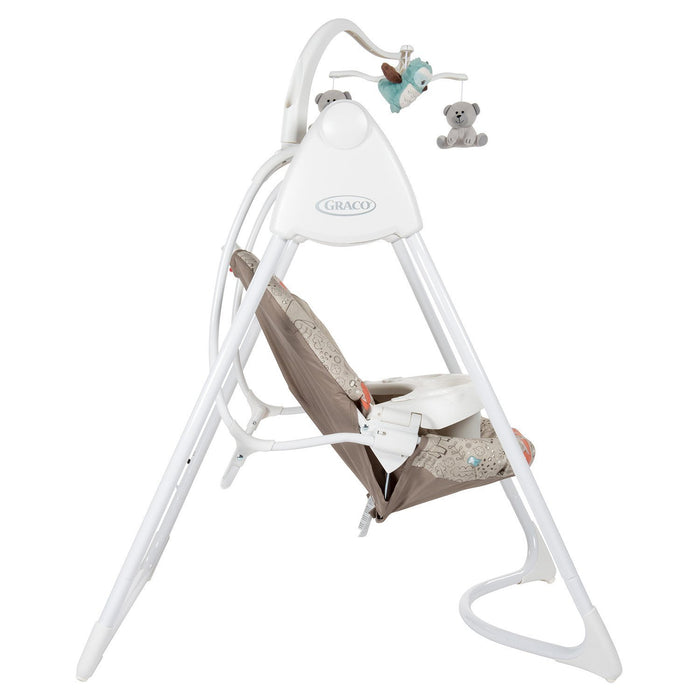 Graco Lovin' Hug Swing with Plug, Woodland Walk