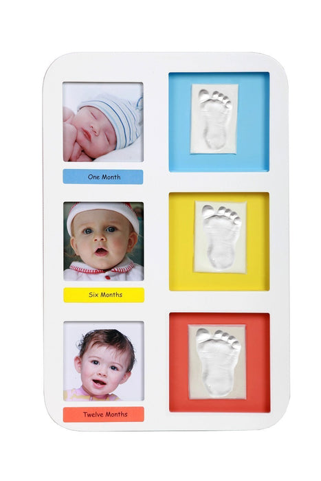 Adora 3830047238077 Baby Photo Rramen Photo Frame for 3 Photos and Prints, klein, Larger, Biggest