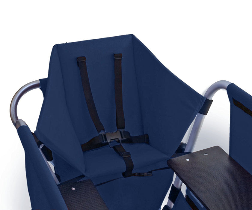 Walking Wagon Child Seat (Blue)