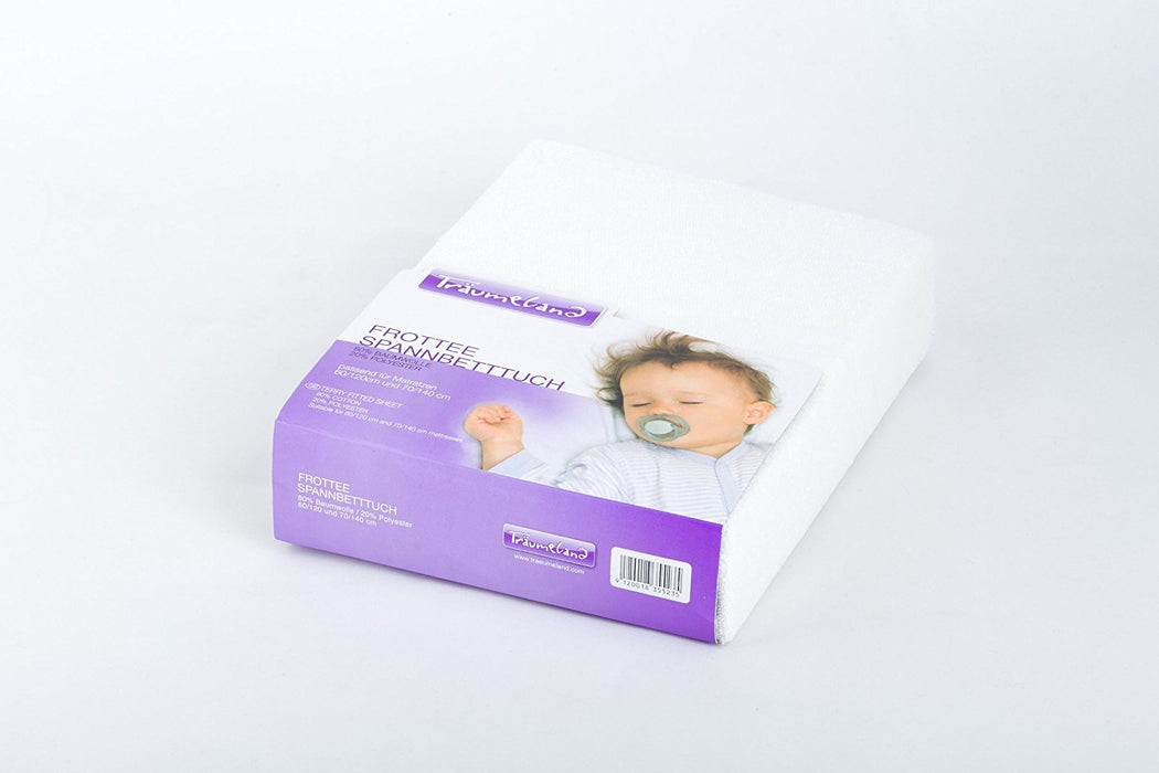 Träumeland TT01001 Terry Cloth Fitted Sheet 90 x 40 cm
