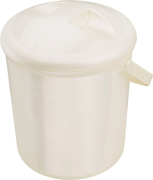 Nappy Pail Bella Bambina (Pearl White Cream)