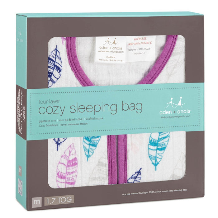 aden + anais Cozy Sleeping Bag (Medium, Wink)