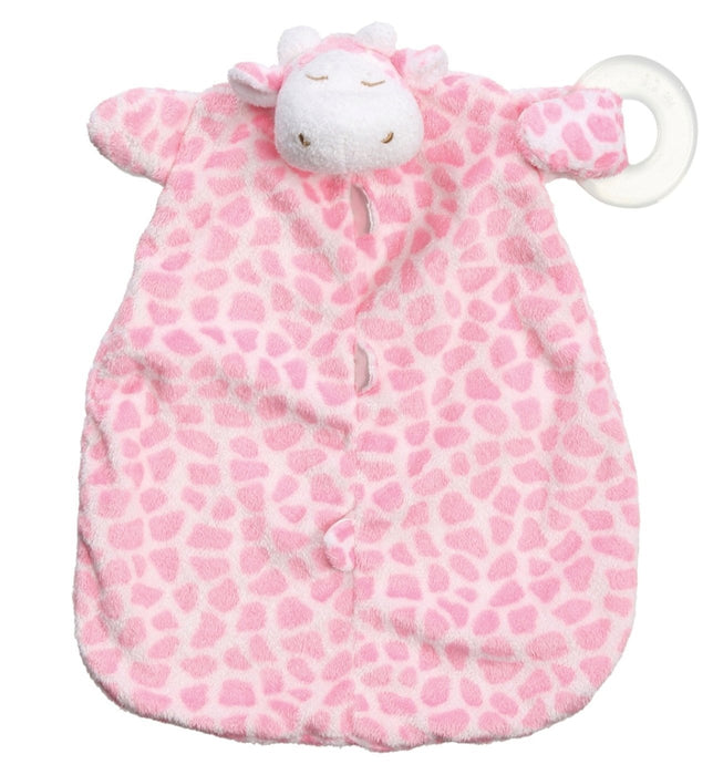 Angel Dear Blankie Teether Pink Giraffe
