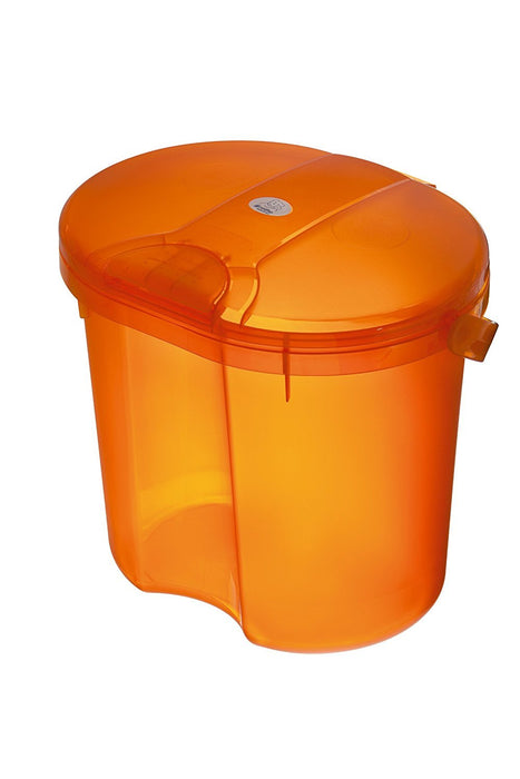 Rotho Babydesign Top Nappy Pail (Translucent Orange)