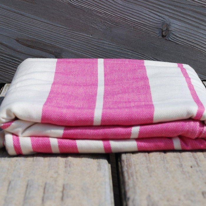 Didymos Woven Baby Wrap, Standard Raspberry, Size 7, 520 cm, Pink/White
