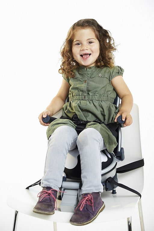 Buggypod Perle Clip On Board & Booster Seat (Fresian Cow)