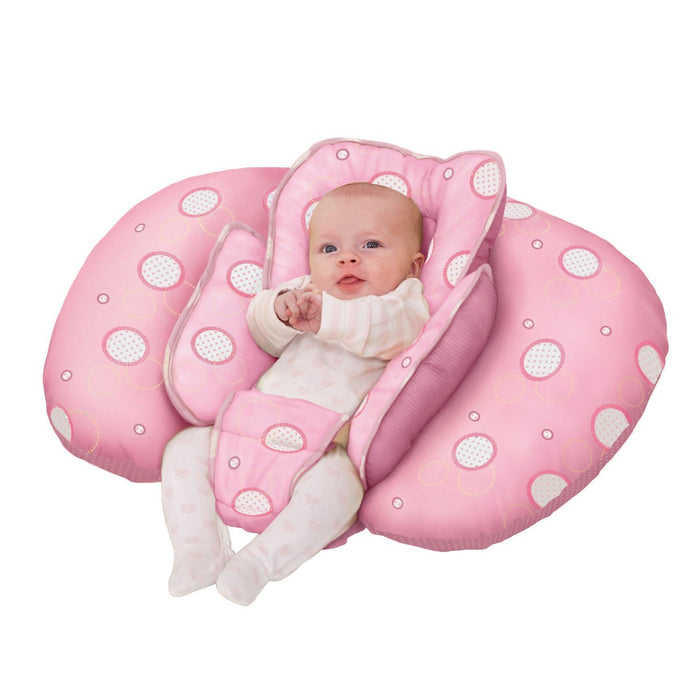 Clevamama ClevaCushion 10-in-1 Nursing Pillow (Pink)