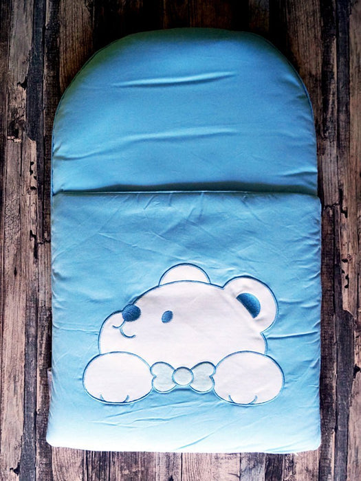 zCush Cotton Characters Nap Mat, Plushy Paws