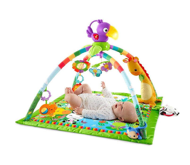 Fisher Price Music And Lights Deluxe Rainforest Gym