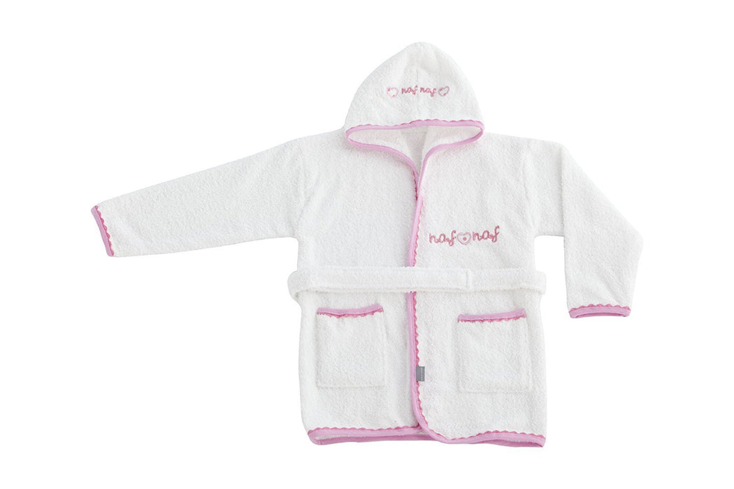 Naf Naf Heart Bathrobe (12 - 24 Months)