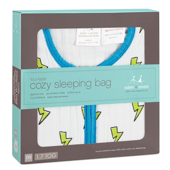 aden + anais Cozy Sleeping Bag (X-Large, Whiz Kid)