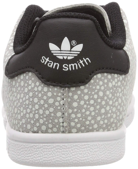 adidas Unisex Kids' Stan Smith El I Fitness Shoes Grey (Gris 000) 8.5 UK