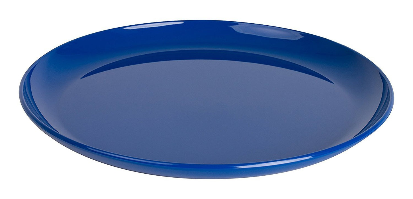 Kinderzeug Polycarbonate Flat Dinner Plate (24 cm Blue Pack of 6)  sc 1 st  LittleDuckUSA.com & Kinderzeug Polycarbonate Flat Dinner Plate (24 cm Blue Pack of 6 ...