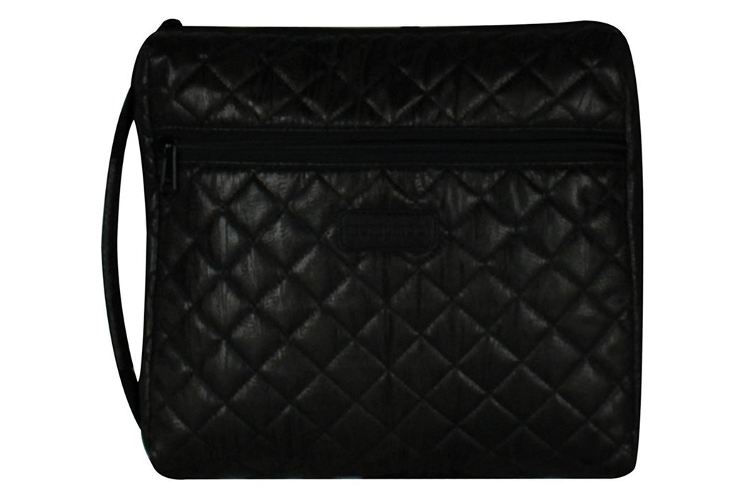 Momymoo Grab and Go Changing Station (Quilted Black)