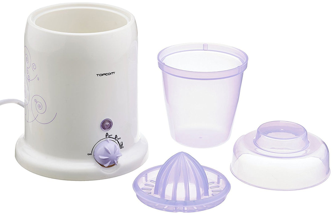 Topcom 3-in-1 Sterilisation/Heating/Juice Function 301 Baby Bottle Warmer