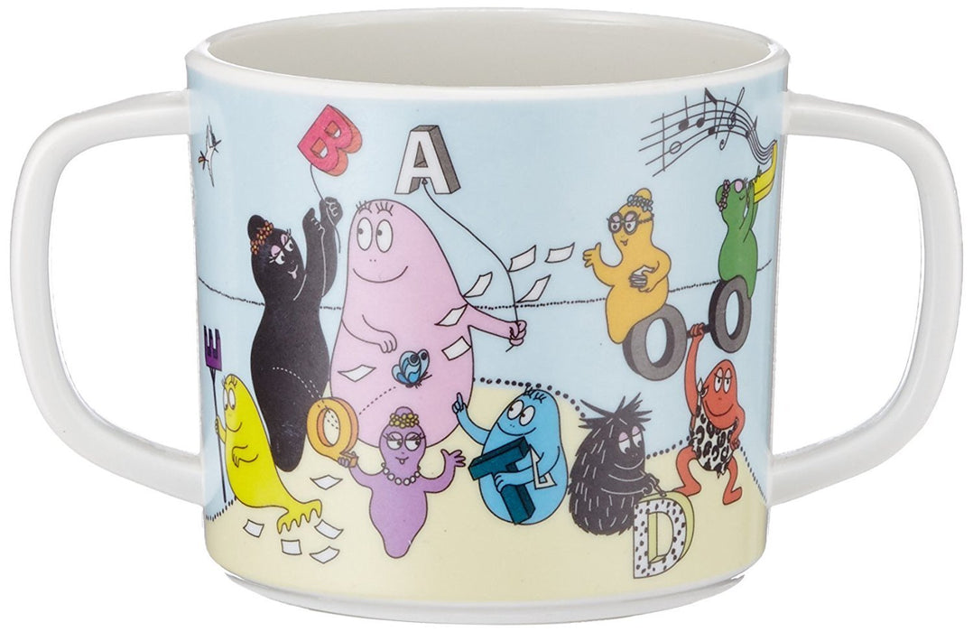Barbapapa BA904F Cup with 2 Handles and Alphabet Motif
