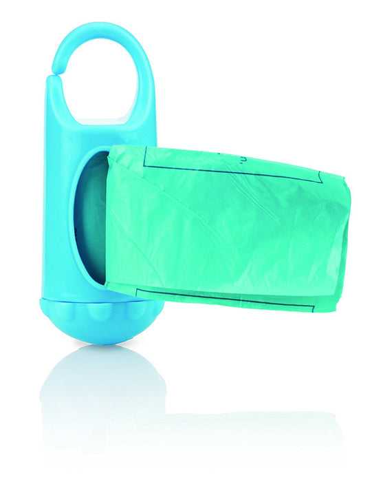 Nuby ID7044 Nappy Bag Dispenser with Box and Bags, Biodegradable