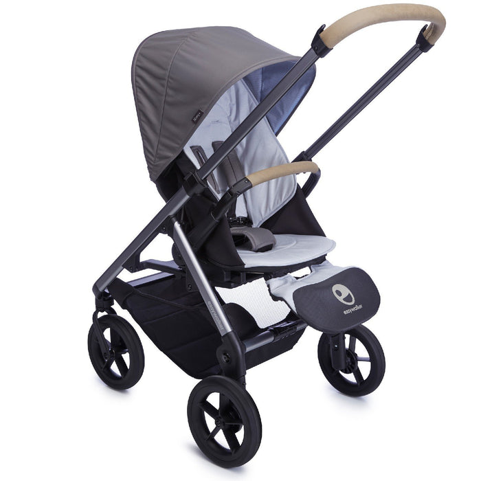 Easywalker Mosey Plus Single Pushchair, Pebble Grey