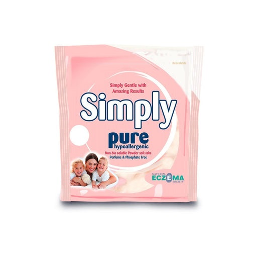Simply Pure Allergen and Fragrance Free Non-Bio Soluble Powder Soft-Tabs - Pack of 200 washes
