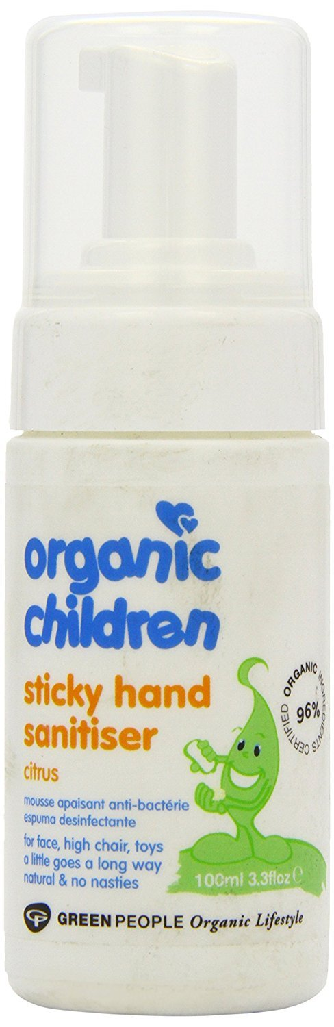 Green People Organic Children Sticky Hand Sanitiser (100ml)