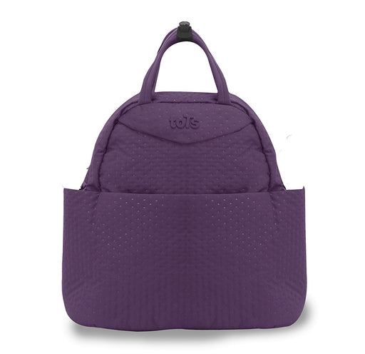 Tots by Smart Rike Quilt 100 - 204 Infinity Changing bag, Nappy Bag, Mommy Bag (38 x 18 x 38 cm - lilac