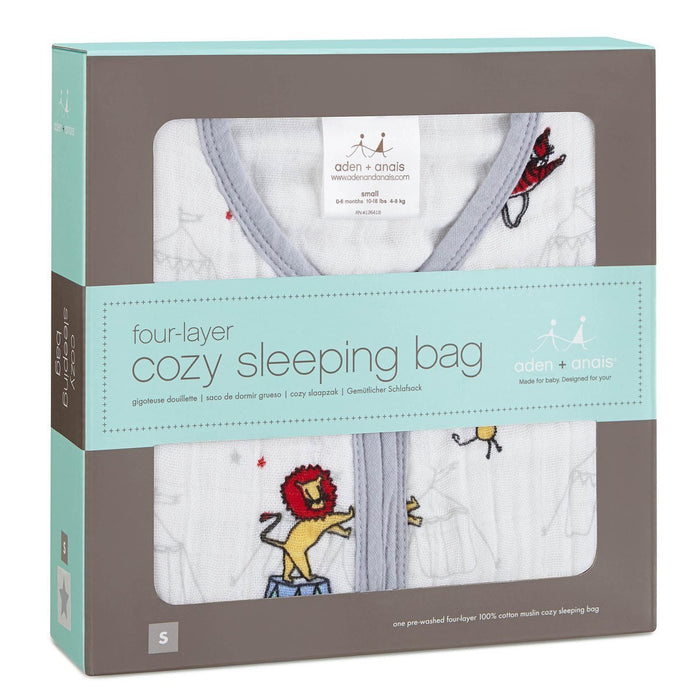 aden + anais Cozy Sleeping Bag (Medium, Vintage Circus)