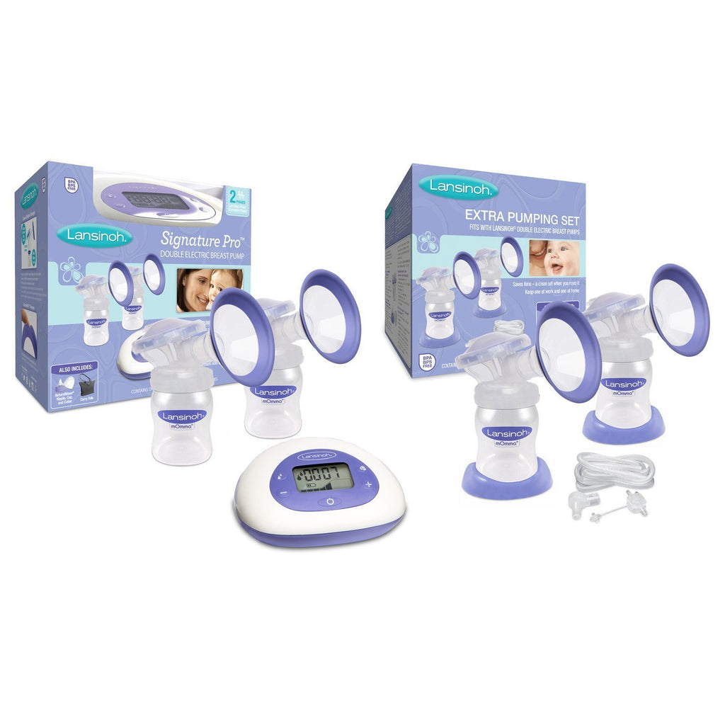 Lansinoh Signature Pro Double Electric Breast Pump With Extra