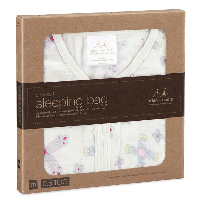 aden + anais Silky Soft Sleeping Bag (X-Large, Flower Child)