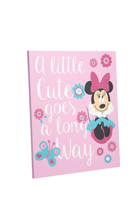 "Disney Minnie ""Isn't she Lovely"" Wall Art"