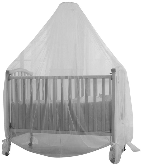 Baby Dan 3320-01-85 Mosquito Net for Cot, White