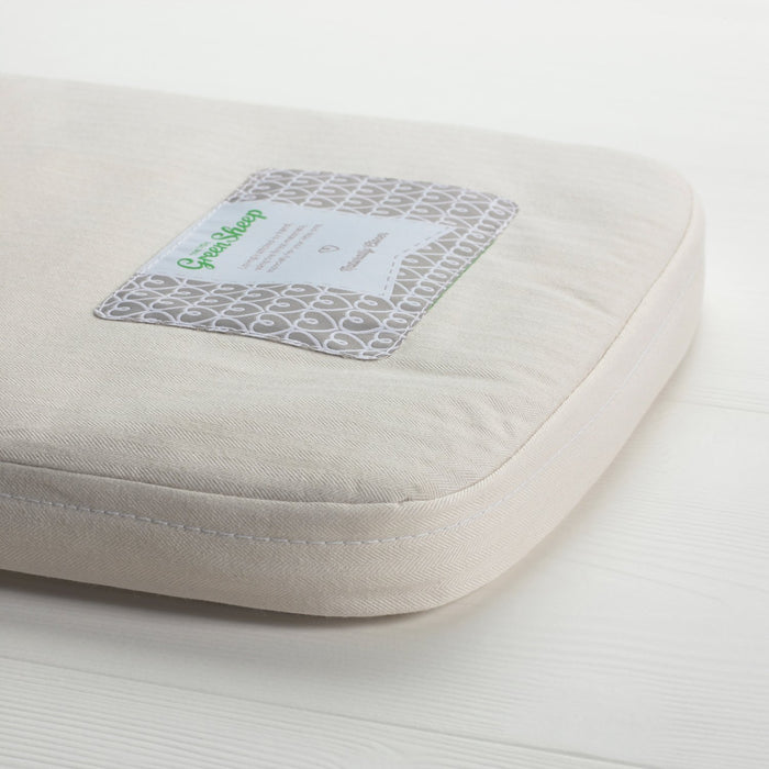 The Little Green Sheep Natural Carrycot Mattress for Bugaboo Donkey (30 cm x 76 cm)
