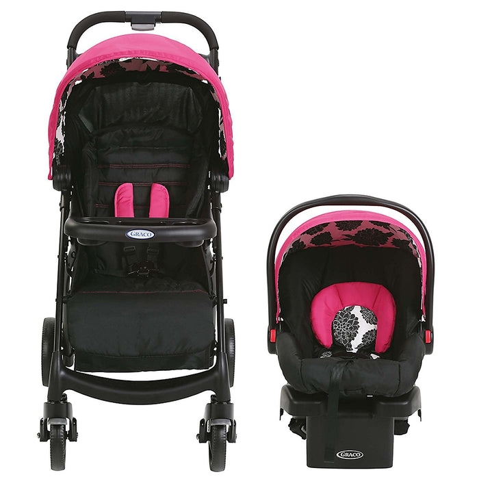 Graco Verb Travel System Stroller, Azalea