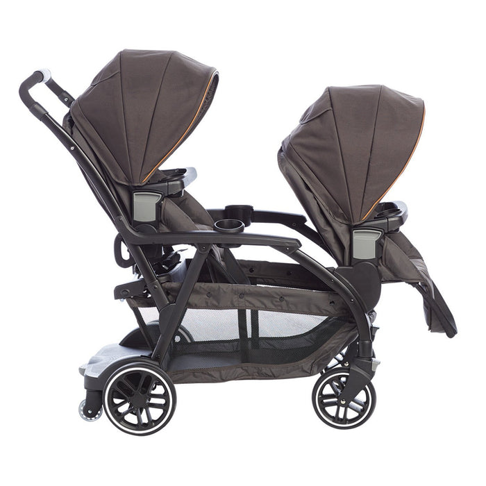 Graco Modes Duo Pushchair, Black Gray