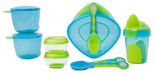 Vital Baby 8 piece Start Weaning Kit - BLUE