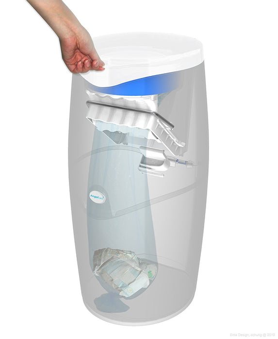 Angelcare Nappy Disposal System - Frustation-Free Packaging