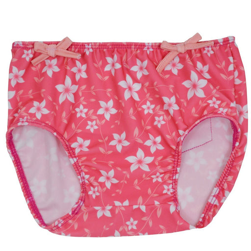 Splash About Girl's Collections Swim Nappy Cover - Pink Blossom, Small