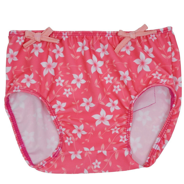 Splash About Girl's Collections Swim Nappy Cover - Pink Blossom, Medium