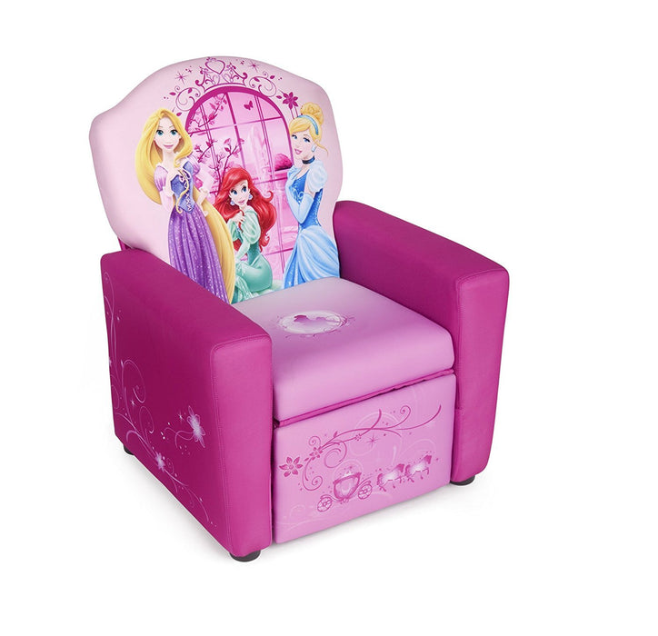 Disney Princess Upholstered Recliner Chair