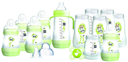 MAM Easy Start Self Sterilising Anti Colic Starter Set, Large, Green