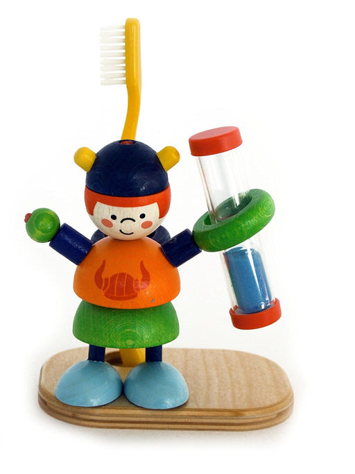 Hess Wooden Arne Decor Tooth Brush Holder with Timer