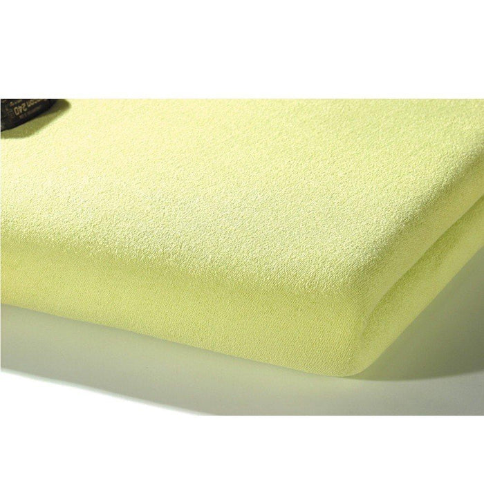 Alvi Jersey Fitted Sheet (70 x 140 cm, Green)
