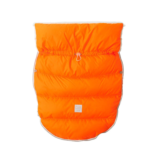 7AM Enfant Lamb Pod Cover for Strollers and Car-Seats, Neon Orange, Medium/Large