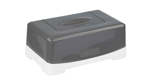 Luma Babycare L22903 Schönbeck Design Wet Wipe Storage Box in Dark Grey Grey