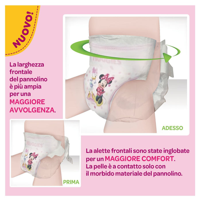 Huggies - Bimba - Nappies - Size 6 (15 - 30 kg) - 2 x 34 Nappies
