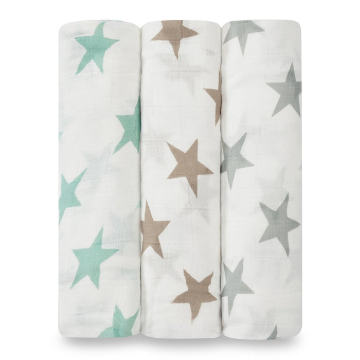 aden and anais Bamboo Swaddles Milky Way